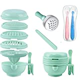 9 in 1 Baby Food Masher Grinder Manufacturer Portable Baby Feeder Food Processor Baby Puree Cooking Machine Multi-Function Accessory kit