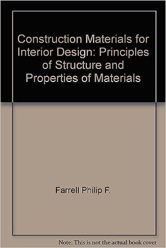 Construction Materials For Interior Design William Rupp 9780823009299 Amazon Books