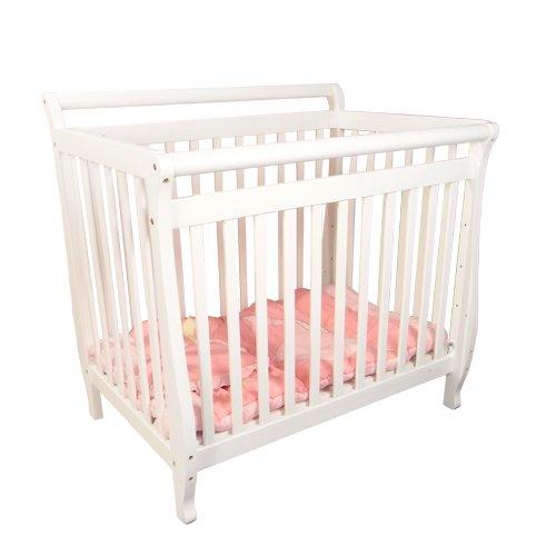 Athena Mini Amy Baby Crib (White)