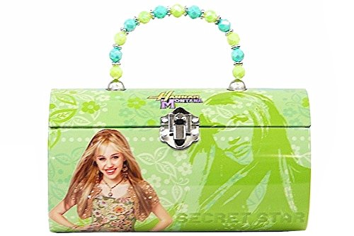 Hannah Montana Lunch Box (Hannah Montana Green Kids Tin Lunch Box)