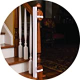EZ-Fit: Baby Gate Walk Thru Adapter Kit for Stairs + Child and Pet Safety - Protect Banisters + Walls - ONLY includes (1) adapter side - Please review all bullets and description prior to purchase