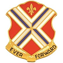 116th Infantry Unit Crest (Ever Forward)