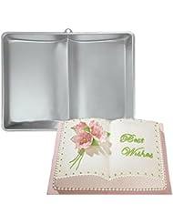 Plum Garden 3D Book Shape Fondant Cake Tin Baking Mold Decorating Bake Ware Tools