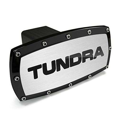 Toyota Tundra Black Bolt Billet Aluminum Tow Hitch Cover by Toyota