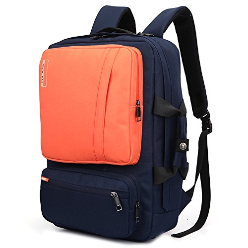 Brinch Unisex 10-17 Inch Laptop Backpack with Side Handle an