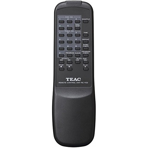 Teac PD-D2610MKII 5-Disc Carousel CD Player Changer Remote CD,CD-R/RW, MP3 Disks (Renewed) by Teac (Image #3)
