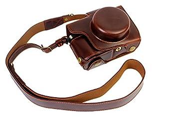 03be554e019c4 Vollsohlensicherungen Öffnungs Version Schutz-PU-Leder Kamera Tasche mit  Stativ-Design-kompatibel