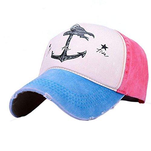 al Sombreros Gorra libre Azul Hombres Mujer Snapback aire beisbol de Marrón Goodsatar Celeste casuales Deportes RqYgvTww