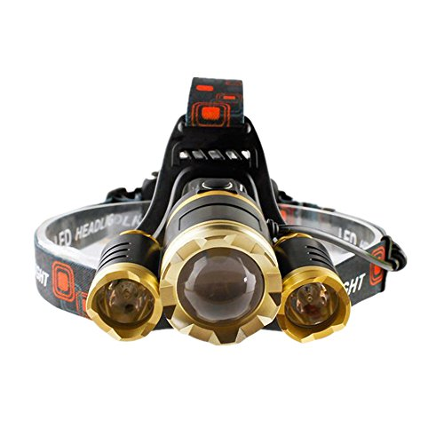 headlight Rechargeable headlamp Waterproof Flashlight product image