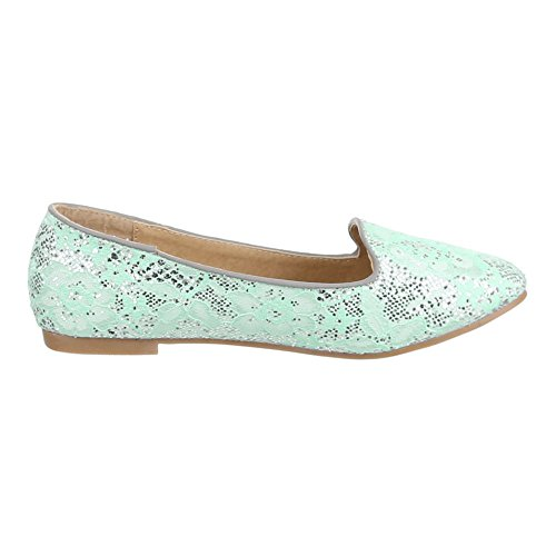 Ital-Design - Zapatos Mujer turquesa