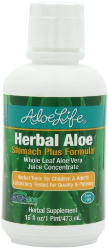 Aloe Life Herbal Stomach Nutritional Supplements, 16 Ounce