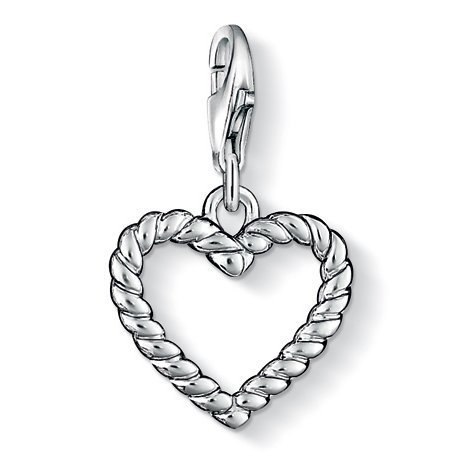 (Womans Charms Silver Charm Thomas Sabo 0861-001-12)