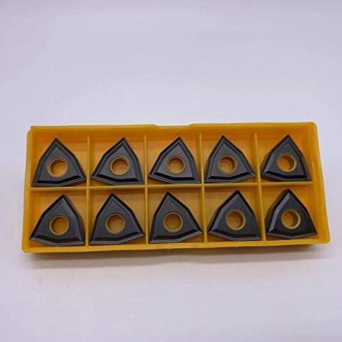 WITHOUT BRAND 10PCS Hartmetalleinsätze WNMG080404 UC5115 Spezialgusseisen Klingendrehwerk