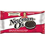 Newman's Own Newman-O's, Crème Filled Chocolate Cookies, 8-Ounce Packages (Pack of 6)