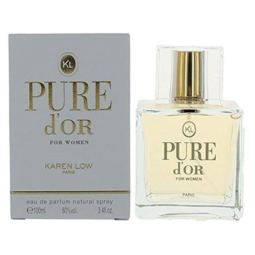 Pure D'Or POUR FEMME par Karen Low - 100 ml Eau de Parfum Vaporisateur
