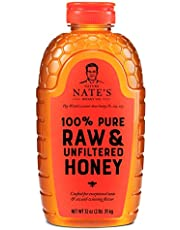 Nature Nate's 100% Pure, Raw & Unfiltered Honey,