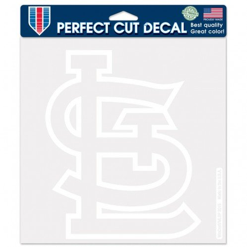 WinCraft MLB St. Louis Cardinals WCR02979115 Perfect Cut Decals, 8