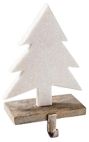 Mud Pie Marble Tree Stocking Holder by Mud Pie
