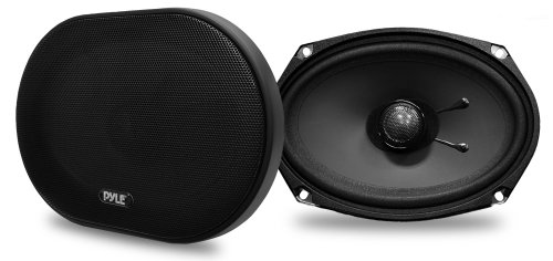Pyle PLSL6902 Plus Series 6 x 9 Inch 240 Watt Slim Mount 2-Way Coaxial Speakers - Set of 2