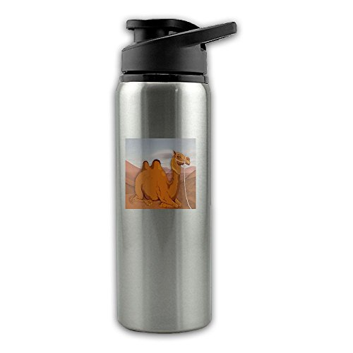 Desert-camel Stainless Steel Riding Sports Kettle,Open Air Portable Jug,700ml Road Bicycle Fittings