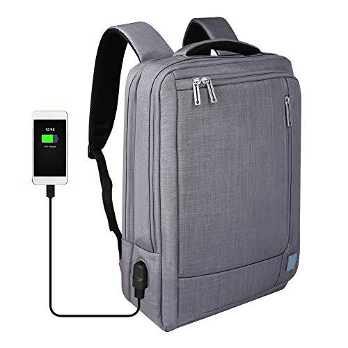 beibeiqiqi Laptop Backpack,Multi-Functional Briefcase Messenger Bag Laptop Case for 15.6