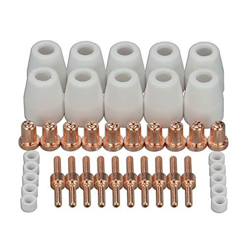 PT-31 LG-40 Plasma Tip Nozzle Electrode Extended Cutting Consumable CUT-50 CUT-40D 40pcs