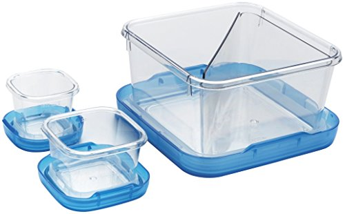 OXO Good Grips 6-2/7-Cup Lock Top Lunch Set, -
