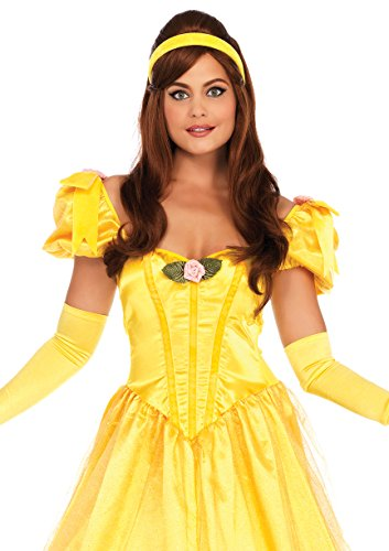 Leg Avenue Women's Belle of The Ball Beauty Costume, Yellow, X-Large ()