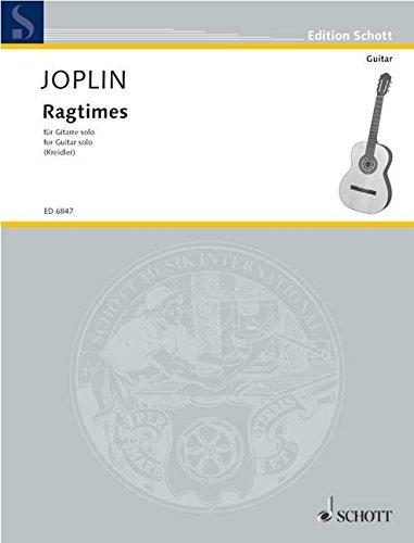 Ragtimes: Gitarre. (Edition Schott)