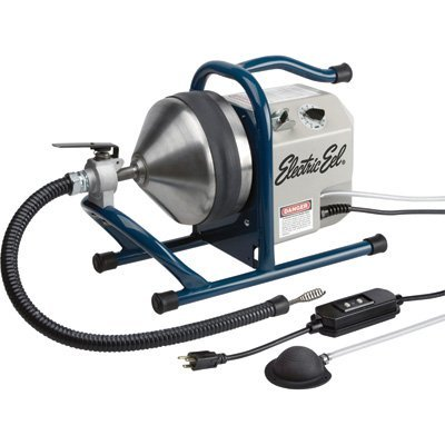 - Electric Eel Counter Top Drain Cleaning Machine - Auto Feed, Model# CTK-5/16EIC35-AF