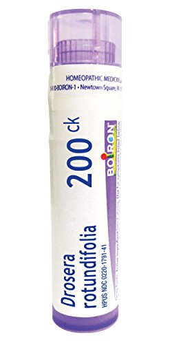 (Boiron Drosera Rotundifolia 200CK, 80 Pellets, Homeopathic Medicine for Coughing)