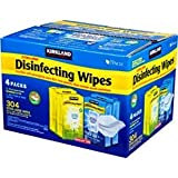 Kirkland Signature Disinfecting Wipes with Tencel, Fresh Air and Lemon, 304 Wipes