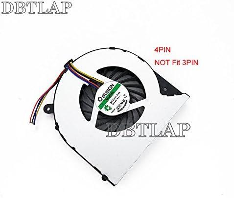 DBTLAP Laptop Fan Compatible for Toshiba Satellite C855-S5194 CPU Fan