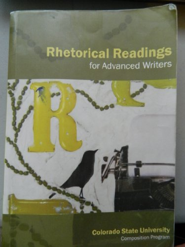 Rhetorical Readings for Advanced Writers