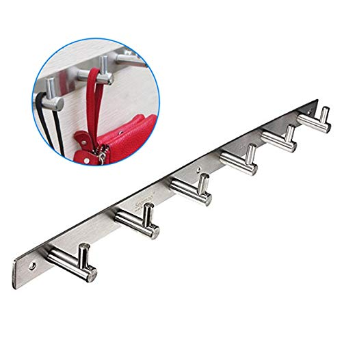 - Newly Style Stainless Steel Bathroom Hooks Coat Hat Clothes Robe Holder Rack Wall Hanger Mount Hook Superior