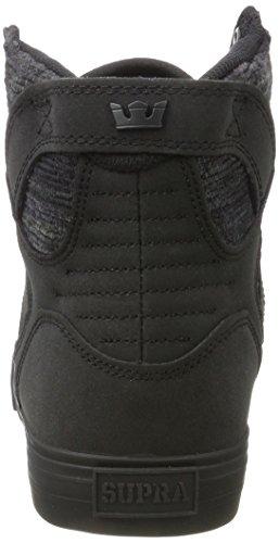 Nero Alto Uomo Supra Black black a Collo Sneaker Multi Skytop 4wq4UaH1