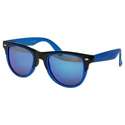 Ciffre Norme Bleu de Soleil noir Nerd UV®400 Lunettes UV STYLE Lunette Vintage Retro 400 rOwR8rqx