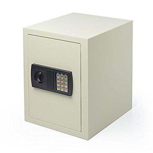 イーサプライ 電子金庫 マイナンバー セキュリティ―対策 家庭用 テンキー 鍵式 壁掛け対応 中棚付き 43リットル EZ2-SL045   B071J1B1GP