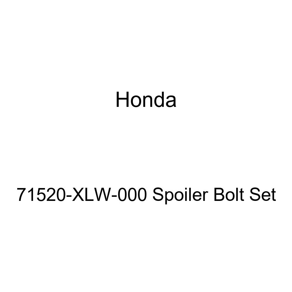 Honda Genuine 71520-XLW-000 Spoiler Bolt Set