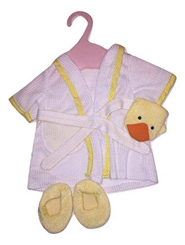 North American Bear Company Rosy Cheeks Baby Bathrobe Set