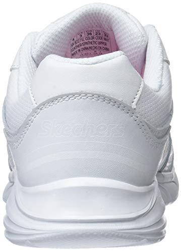 Blanco scholar Niñas Wht Skechers white Zapatillas Spirit Para Sprint Sprintz 0qwSvqf