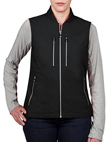 SCOTTeVEST 101 Vest-Women's - 9 Pockets, Travel Clothing, BLK, M2 by SCOTTeVEST