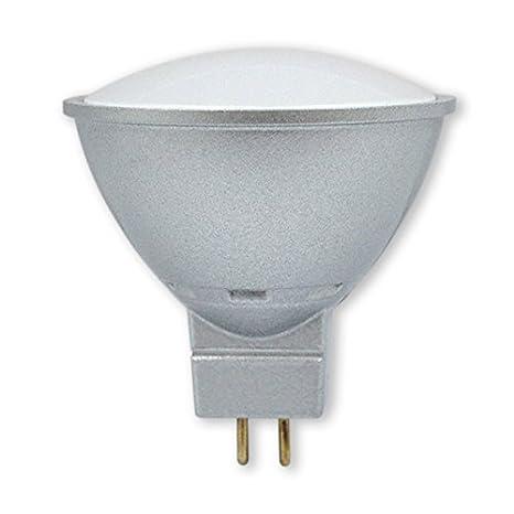 RaydanHome 15791-Bombilla LED, 5 W, 400 lúmenes, 120º, 4000k, Color Blanco GU5.3