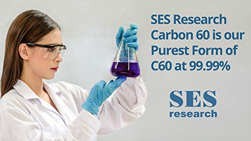 Fine Grade Carbon 60, 99.99% in Organic Olive Oil Extra Virgin - 120 ml by SES Research Inc. (Image #3)