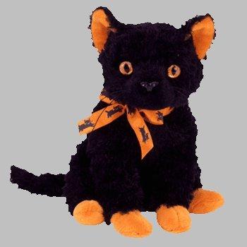 fd1d059aeca Amazon.com  Ty Beanie Babies Fraidy - Black Cat  Toys   Games