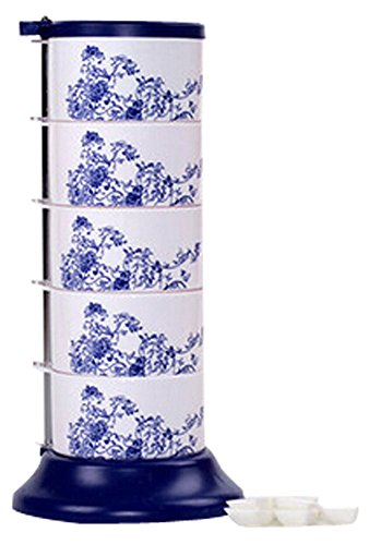 Condiment Holder Rotatable Seasoning Cans Convenient Condiment Racks by Panda Superstore