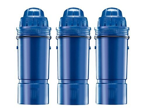 Water filters 80 gallons of clean water, PUR CRF-950Z 2-Stage Water Pitcher Replacement Filter, 3-Pack, New!!! (Pur Replacement Filter W10295370 compare prices)