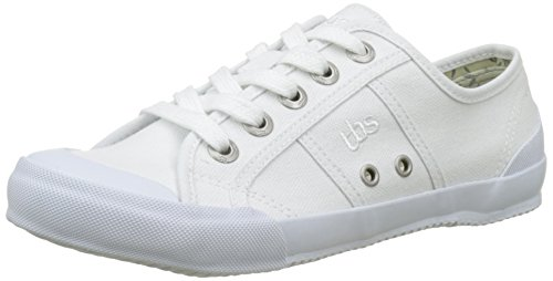 White Women's Derbys TBS Blanc Black S7 Opiace 6Xqqw0