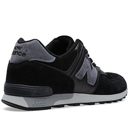New Balance , Herren Sneaker mehrfarbig schwarz / grau
