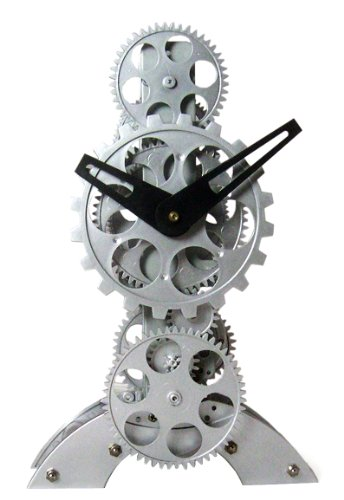 (Maple's Moving Gear Table Clock, Upright Figure)